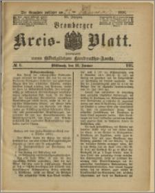 Bromberger Kreis-Blatt, 1891, nr 6
