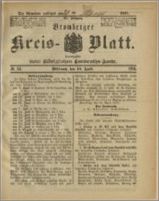 Bromberger Kreis-Blatt, 1891, nr 34