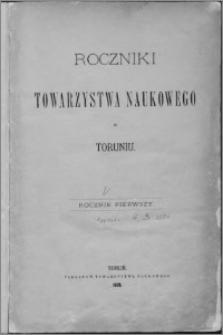 Roczniki Towarzystwa Naukowego w Toruniu, R. 3, (1884)