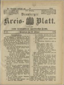 Bromberger Kreis-Blatt, 1892, nr 17