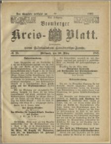 Bromberger Kreis-Blatt, 1892, nr 26