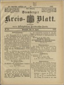 Bromberger Kreis-Blatt, 1892, nr 30