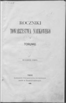 Roczniki Towarzystwa Naukowego w Toruniu, R. 8, (1901)