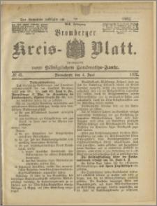 Bromberger Kreis-Blatt, 1892, nr 45
