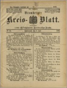 Bromberger Kreis-Blatt, 1892, nr 55