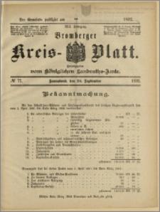 Bromberger Kreis-Blatt, 1892, nr 77