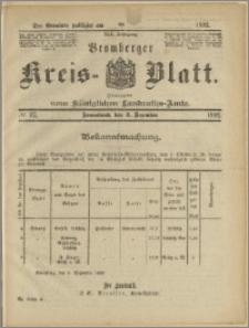 Bromberger Kreis-Blatt, 1892, nr 97