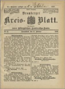 Bromberger Kreis-Blatt, 1893, nr 12