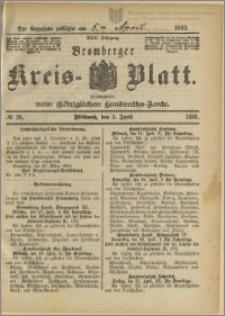 Bromberger Kreis-Blatt, 1893, nr 26