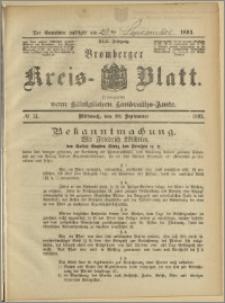 Bromberger Kreis-Blatt, 1893, nr 74