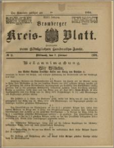 Bromberger Kreis-Blatt, 1894, nr 11