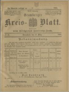 Bromberger Kreis-Blatt, 1894, nr 22