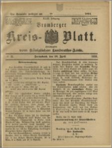 Bromberger Kreis-Blatt, 1894, nr 34