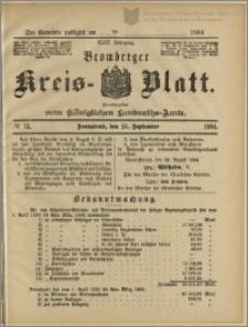 Bromberger Kreis-Blatt, 1894, nr 74