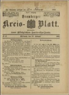 Bromberger Kreis-Blatt, 1895, nr 17