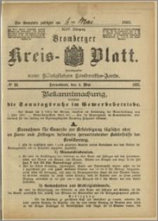 Bromberger Kreis-Blatt, 1895, nr 33