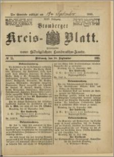 Bromberger Kreis-Blatt, 1895, nr 75