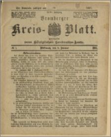 Bromberger Kreis-Blatt, 1897, nr 1