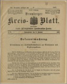 Bromberger Kreis-Blatt, 1897, nr 2