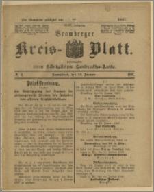 Bromberger Kreis-Blatt, 1897, nr 4