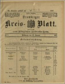 Bromberger Kreis-Blatt, 1897, nr 7