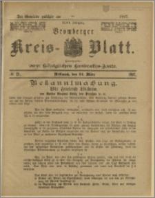 Bromberger Kreis-Blatt, 1897, nr 23