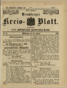 Bromberger Kreis-Blatt, 1897, nr 31