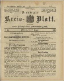 Bromberger Kreis-Blatt, 1897, nr 65 B