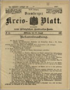 Bromberger Kreis-Blatt, 1897, nr 67