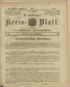 Bromberger Kreis-Blatt, 1897, nr 69