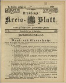 Bromberger Kreis-Blatt, 1897, nr 70