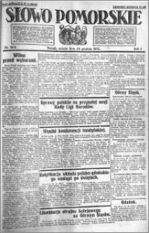 Słowo Pomorskie 1921.12.24 R.1 nr 294
