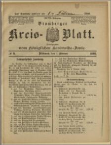 Bromberger Kreis-Blatt, 1899, nr 9