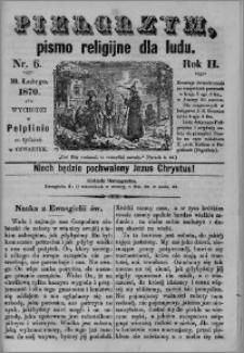 Pielgrzym, pismo religijne dla ludu 1870 nr 6