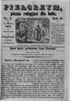 Pielgrzym, pismo religijne dla ludu 1870 nr 9
