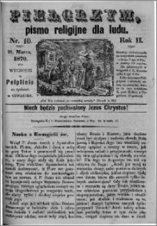 Pielgrzym, pismo religijne dla ludu 1870 nr 10