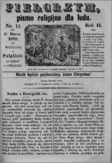 Pielgrzym, pismo religijne dla ludu 1870 nr 11