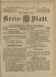 Bromberger Kreis-Blatt, 1901, nr 27
