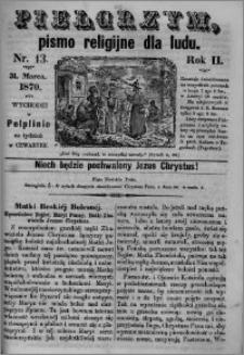 Pielgrzym, pismo religijne dla ludu 1870 nr 13