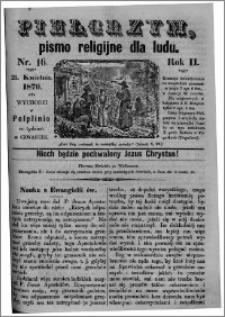 Pielgrzym, pismo religijne dla ludu 1870 nr 16