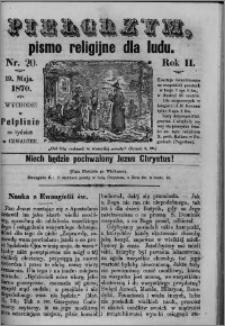 Pielgrzym, pismo religijne dla ludu 1870 nr 20