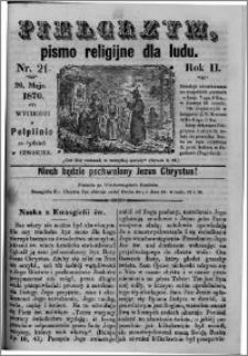 Pielgrzym, pismo religijne dla ludu 1870 nr 21