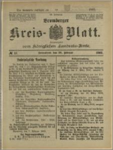 Bromberger Kreis-Blatt, 1903, nr 17
