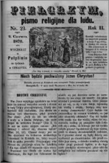 Pielgrzym, pismo religijne dla ludu 1870 nr 23