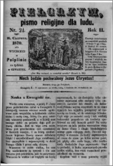 Pielgrzym, pismo religijne dla ludu 1870 nr 24