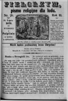 Pielgrzym, pismo religijne dla ludu 1870 nr 28