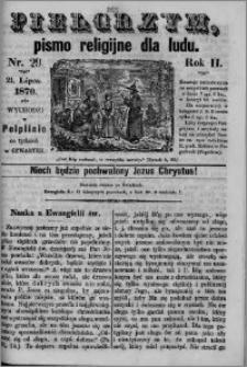 Pielgrzym, pismo religijne dla ludu 1870 nr 29