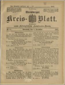 Bromberger Kreis-Blatt, 1905, nr 97