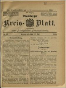 Bromberger Kreis-Blatt, 1906, nr 60