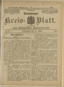 Bromberger Kreis-Blatt, 1907, nr 24